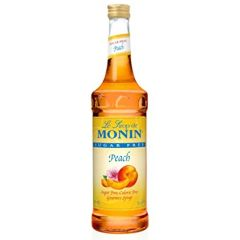 Monin Sugar Free Peach Syrup 25.4 oz