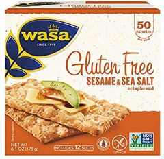 Wasa Gluten Free Sesame & Sea Salt Crispbread - 6.1 oz Package