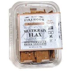 Firehook Multigrain Flax Crackers