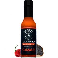 Bravado Black Garlic Carolina Reaper Hot Sauce - 5 oz Bottle