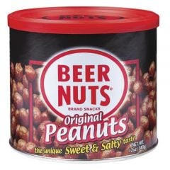 Beer Nuts Original Peanuts - 12 oz Can