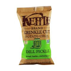 Kettle Dill Pickle Potato Chips - 5 oz Bag