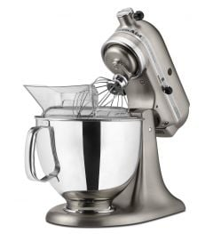 Kitchen Aid 5Qt Custom Metallic Stand Mixer Brushed Nickel
