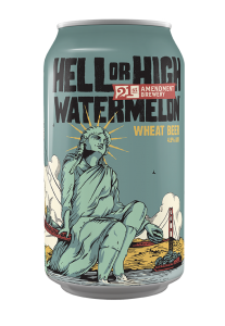 21st Amendment Brewery Hell or High Watermelon / 12-pack cans