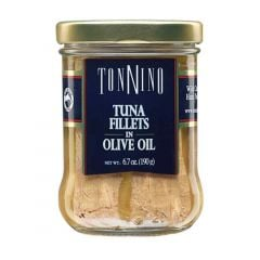 Tonnino Tuna Fillets in Olive Oil - 6.7 oz Jar