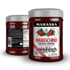 Maraska Maraschino Cocktail Cherries - 14.11 oz Jar
