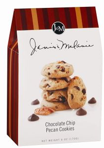 Janis & Melanie Chocolate Chip Pecan Cookies