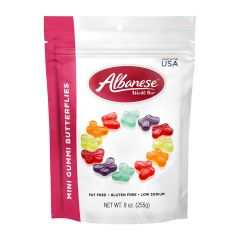 Albanese Gummi Butterflies - 9 oz Bag