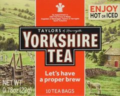 Taylor's of Harrogate Yorkshire Tea - 0/78 oz Box of 10 Bags