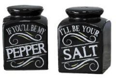 GiftCraft Salt And Pepper Shakers