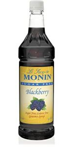 Monin Sugar Free Blackberry Syrup 25.4 oz