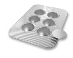 USA Pan 6 Cup Mini Cheesecake Pan