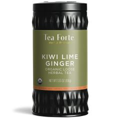Tea Forte Kiwi Lime Ginger Herbal Tea