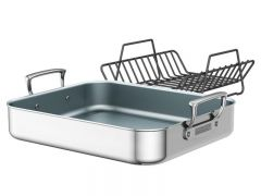 Zwilling JA Henckels Open Roasting Pan Satin Finish
