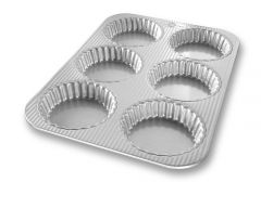 USA Pan Fluted Mini Tart Pan
