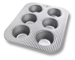 USA Pan 6 Well Muffin Pan