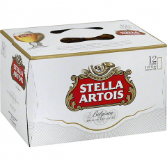 Stella Artois / 12 Pack of Cans