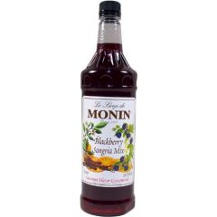 Monin Blackberry Angria Syrup - 33.8 oz Bottle