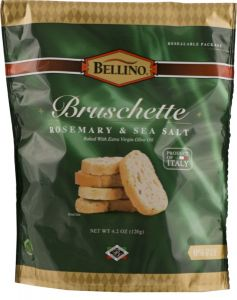 Bellino Rosemary Sea Salt Bruschette