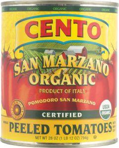 Cento Organic San Marzano Tomatoes 28 OZ