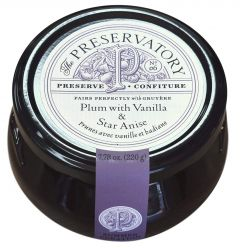 The Preservatory Plum with Vanilla & Star Anise Preserve - 7.78 oz Jar