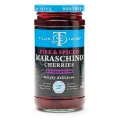Tillen Farms Fire & Spice Maraschino Cherries 13.5 oz