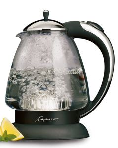 Capresso H2O Plus Glass Safety Water Kettle