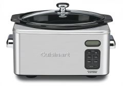Cuisinart Stainless Steel 6.5 Quart Slow Cooker