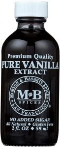 Morton & Bassett Vanilla Extract 2 Oz.