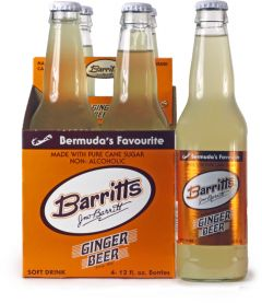 Barritt's Ginger Beer 4 Pk