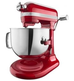 Kitchen Aid 7Qt 1.3HP Pro Line Stand Mixer Candy Apple Red