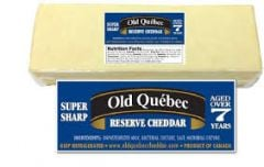 Old Quebec 7 Year Aged Cheddar (8-9oz.piece)