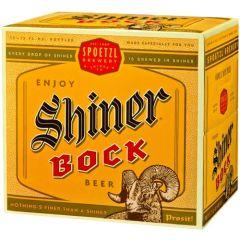 Shiner Bock / 12 Pack of Bottles
