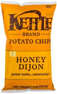 Kettle Honey Dijon Potato Chips - 5 oz Bag