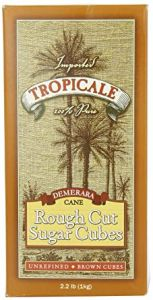 Tropicale Demerara Rough Cut Sugar Cubes