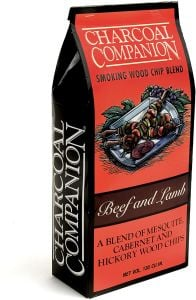 Charcoal Companion Beef & Lamb Smoking Wood Chip Blend