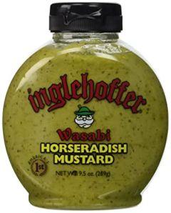 Inglehoffer Wasabi Horseradish Mustard 9.5 OZ