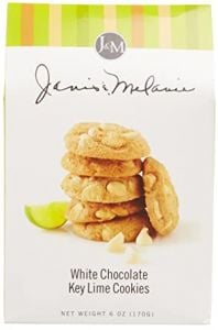 Janis & Melanie White Chocolate Key Lime Cookies