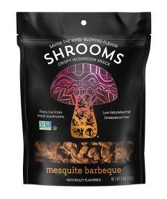 Shrooms Mesquite Barbeque Mushroom Snacks - 2 oz Bag