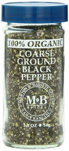 Morton & Bassett Organic Coarse Pepper
