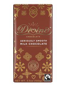 Divine Milk Chocolate Bar -  3.5 oz Bar