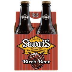 Stewart's Birch Beer 4 Pk
