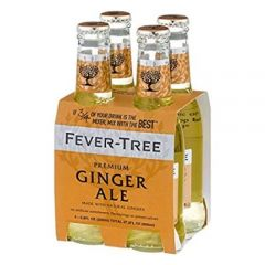 Fever-Tree Ginger Ale 4 Pk