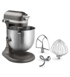 Kitchen Aid 8Qt Commercial Series Stand Mixer Dark Pewter