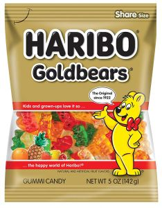 Haribo Goldbears Gummi Candy - 5 oz Bag