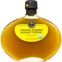 Ritrovo Selections Tumeric Balsamic Vinegar - 6.78 oz Bottle