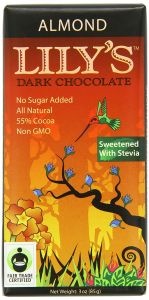 Lily's Salted Almond Dark Chocolate Bar