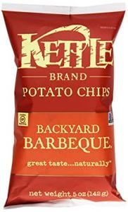 Kettle Backyard Barbeque Potato Chips - 5 oz Bag