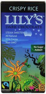 Lily's Crispy Rice Dark Chocolate Bar