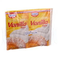 Dr. Oetker Vanilla Sugar - Six 0.32 oz Packages